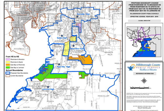 Riverview Schools Proposed New Boundary Lines