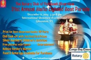 31st Annual Alafia Lighted Boat Parade