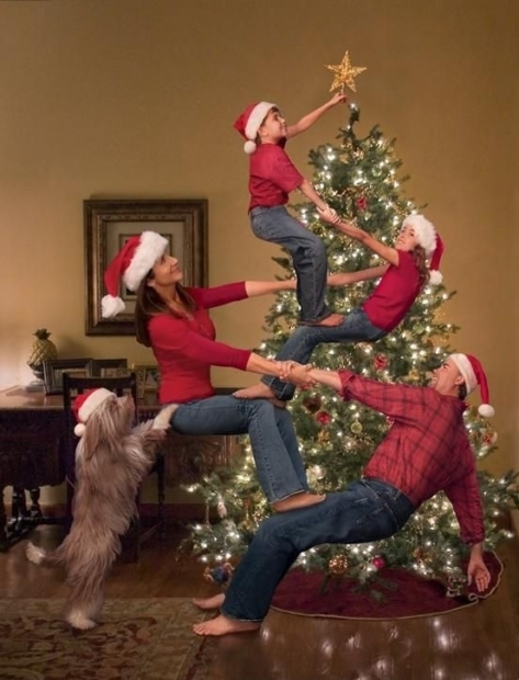 A family of acrobats?