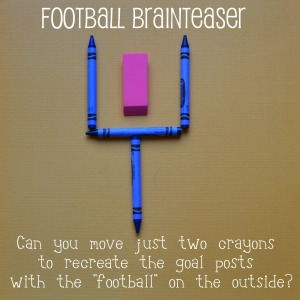 Football Brainteaser Super Bowl Weekend - John Soliman and Associates HomeXpress Realty Inc - National Puzzle Day