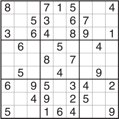 Sudoku - - National Puzzle Day - John Soliman and Associates HomeXpress Realty Inc