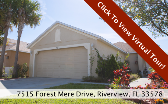7515 Forest Mere Drive Riverview FL 33578 Virtual Tour