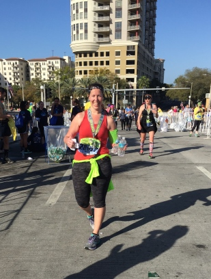 Erica Shockley Finisher - Publix Gasparilla Distance Classic Half Marathon - John Soliman and Associates HomeXpress Realty Inc