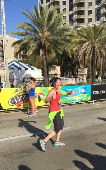 Erica Shockley - Publix Gasparilla Distance Classic Half Marathon - John Soliman and Associates HomeXpress Realty Inc