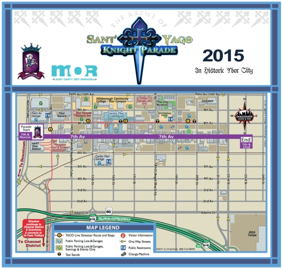 Knight Parade Map 2012 Ybor copy