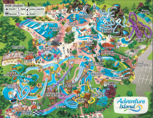 Click The Map To Download Your Own PDF Adventure Island® Park Map
