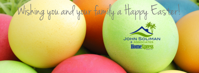 John Soliman and Associates Wishes You A Happy Easter