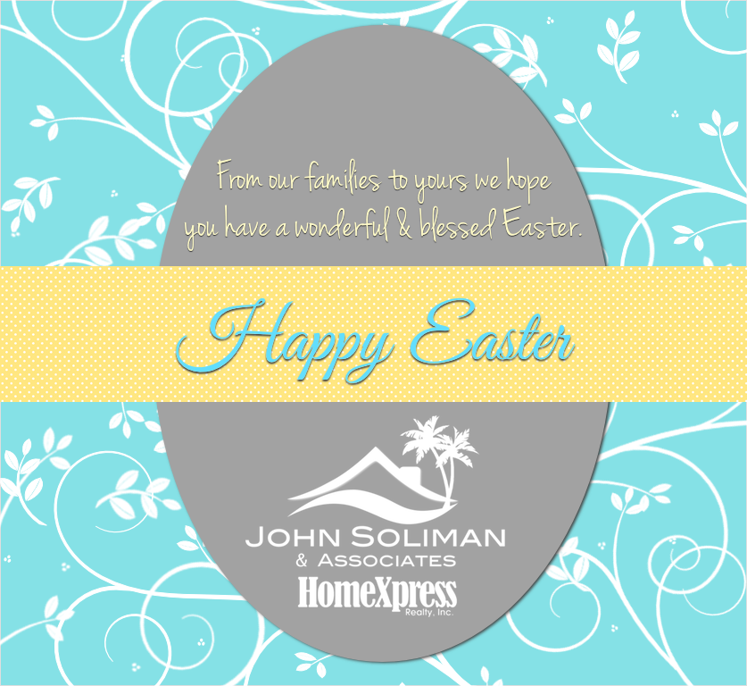 Happy Easter from John Soliman and Associates