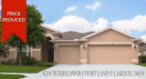 6218 Tigerflower Court Land O Lakes FL 34639 Price Reduced